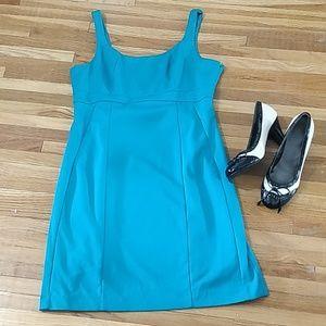 New York & CO pant teal dress 12